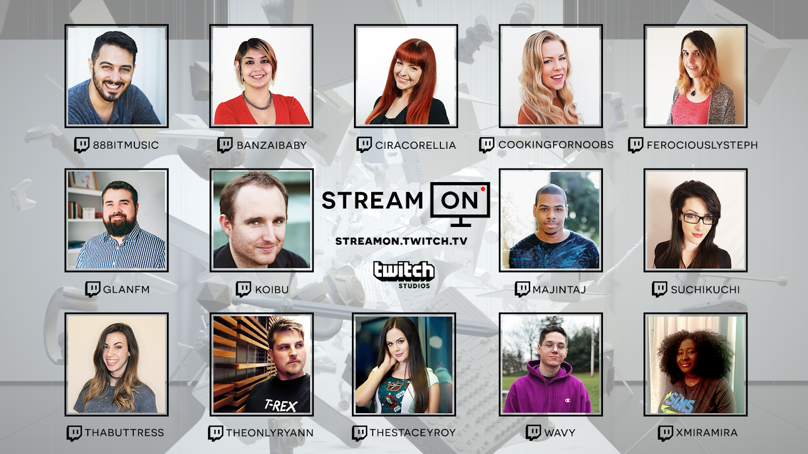 Announcing: Stream On premiere and contestants!